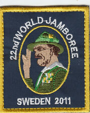 Boy Scout Badge 22 WORLD JAMBOREE SWEDEN 2011 Baden-Powell
