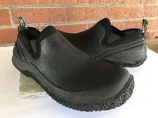 Bogs Urban Walker Waterproof Men's Slip On Hiking Shoe Black 52094 Sz 12 Eur 45