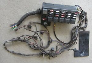 1982 BMW 323i E21 Fuse Box & Wiring Harness Parts Fusebox Used Orig | eBayeBay