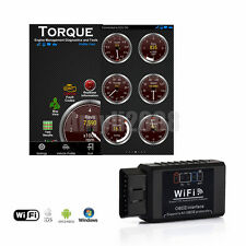 WiFi ELM327 OBDII OBD2 Auto Scanner For iPhone Android PC Car Diagnostic Scan