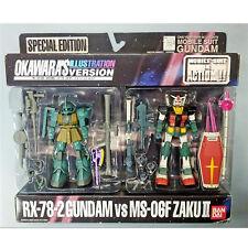 Mobile Suit Gundam RX-78-2 GUNDAM vs MS-06F ZAKU II - OKAWARA'S ILLUSTRATION VER