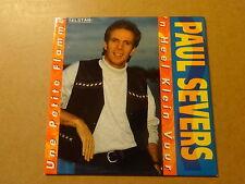 CD SINGLE / PAUL SEVERS: 'N HEEL KLEIN VUUR - UNE PETITE FLAMME