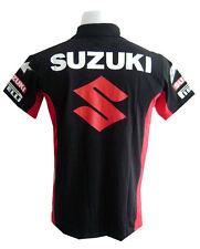 NEW SUZUKI RAC MOTORCYCLE SPORT RACING TEAM BIKER BLUE POLO SHORT T-Shirt Sz XL