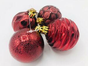 Palline Di Natale.Palline Di Natale Bordeaux Ebay