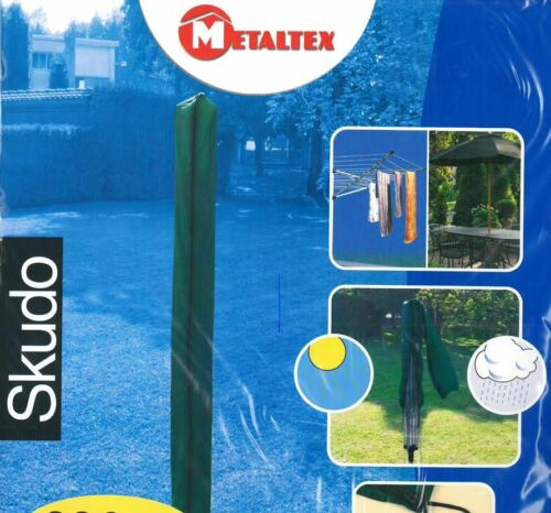 ROTARY DRYER PARASOL WASHING LINE COVER 200CM WITH ZIP /& TIE METALTEX
