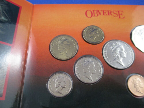 1989 Australian RAM UNCIRCULATED COIN MINT SET NICE SET!!