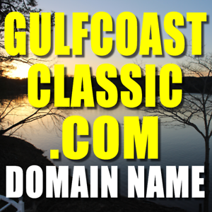 GULFCOASTCLASSIC.COM DOMAIN NAME Valuable Gulf Coast Domain Name