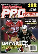 2010 SPORTING NEWS PRO FOOTBALL YEARBOOK-VERNON DAVIS-ZACH MILLER-RAIDERS-49ERS