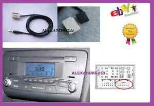 cable auxiliaire aux adaptateur mp3 pour autoradio audi a1 simple ebay. Black Bedroom Furniture Sets. Home Design Ideas