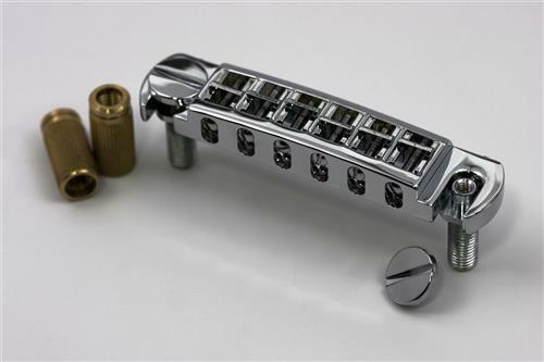 AVT2M-B TonePros Metric Thread Wraparound Bridge for PRS-SE  Black Finish