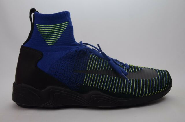 Nike Zoom Mercurial XI FK Flyknit Navy Spiridon Men Shoes 844626401 ... 9d593e031