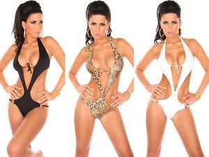 8bcf14326add Monokini Costume da bagno intero donna swimwear moda mare ...