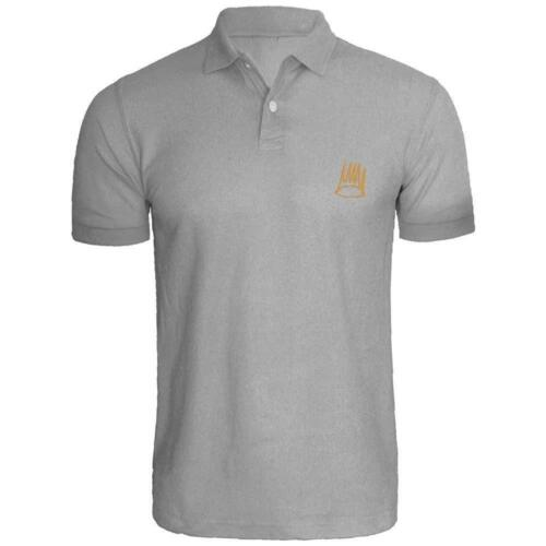 Mens Dreamville Records J Cole Crown Logic Embroidered Polo Shirts Men Shirts