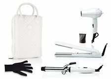 Fashionable Travel 5-Piece Hair Tool Styling Kit with Luxury Carrying Bag
