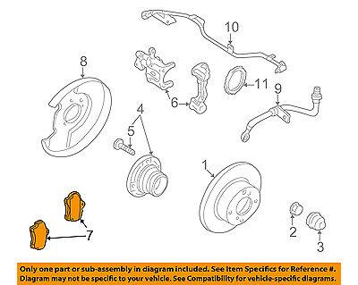 NISSAN OEM Brake-Rear Pads D4M60EG50C