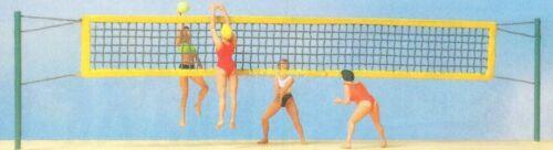 personajes H0 10528 preiser Beach-Voleibol OVP