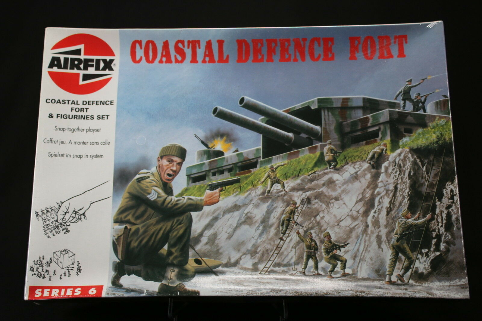 XL054 AIRFIX  1 76 maquette figurine 06706 Coastal Defence Fort  Figurines 1994