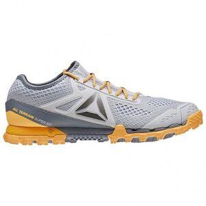 e43f3959305f58 Reebok All Terrain Super 3.0 Womens Grey Trail Running Sports Shoes ...