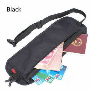 Security-Money-Belt-Waist-Discreet-Travel-Accessory-Safe-Handy-Bum-Bag-Discreet