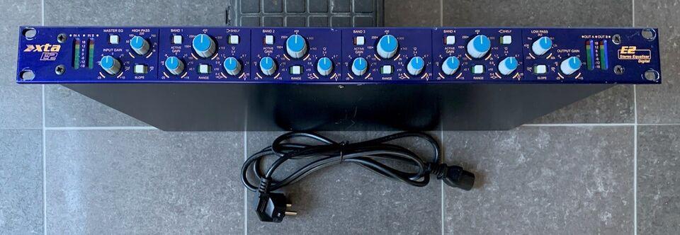 Stereo parametrisk equalizer, XTA E2