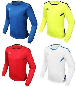 2a040bf04a8b Image is loading Mizuno-Men-GAME-L-S-T-Shirts-Jersey-Training-Blue-