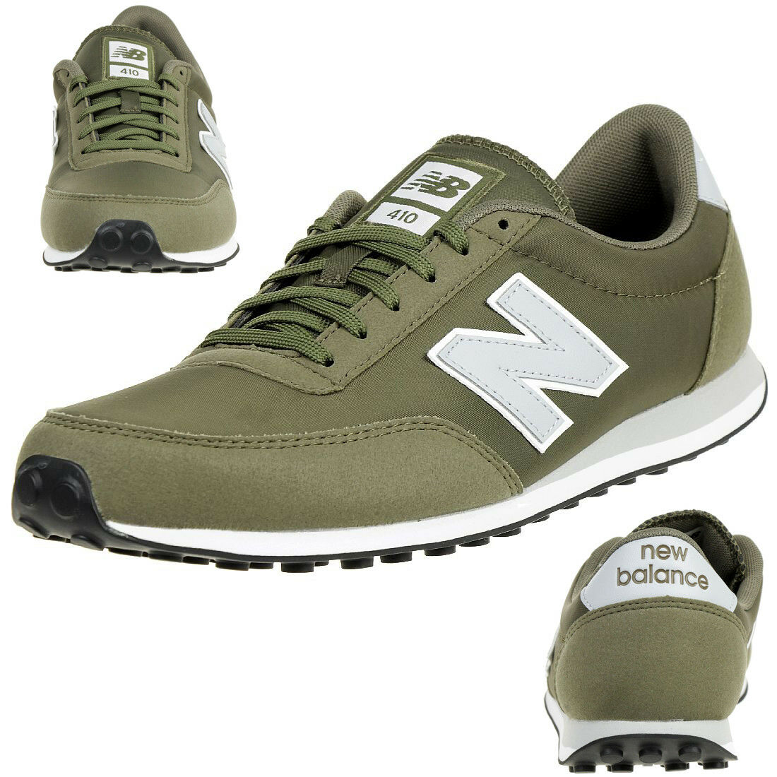 New Balance U410 Olg Sneakers Unisex shoes Sneakers Olive