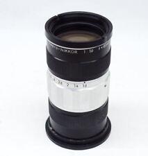 Nikon Nikkor 85mm f/1 Repro Nikkor Special  Macro Lens