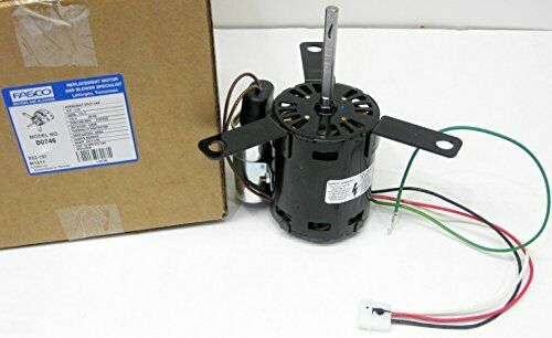1 18 HP 115 Volts 2 Speed Vent Electric Motor Replaces 63746-0 JE2H057-T JEH067N
