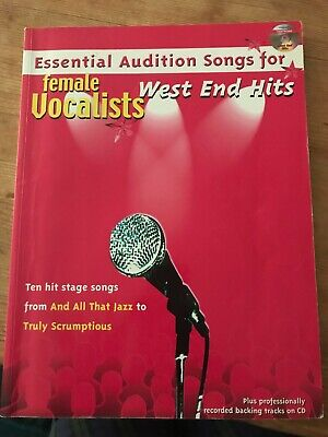 Essential Audition Songs for Female Vocalists - West End Hits | eBay