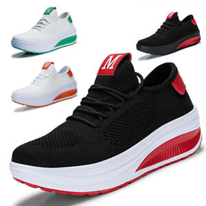 Women-039-s-Tennis-Shoes-Ladies-Girls-Casual-Athletic-Walking-Running-Sport-Sneakers