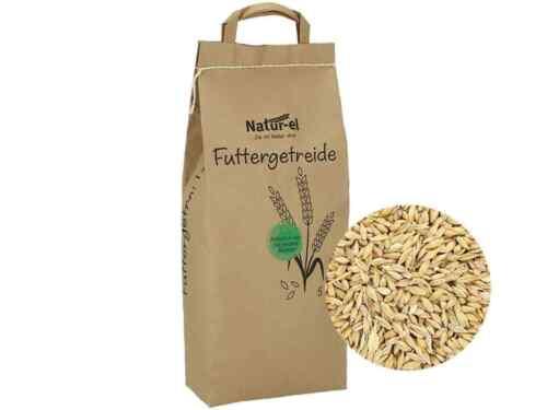 Futtergerste ohne Gentechnik Körner Einzelfuttermittel 5kg naturbelassene Gerste