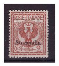 ISOLE EGEO  STAMPALIA   1912 -  Centesimi  2  NUOVO **