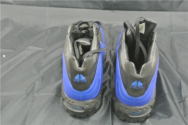 nike foamposite botte taille 10,5 uk chaussures bottes édition spéciale spéciale spéciale rare bleu  noir | Pour Gagner L'éloge Chaleureux Auprès De Ses Clients  524f7e