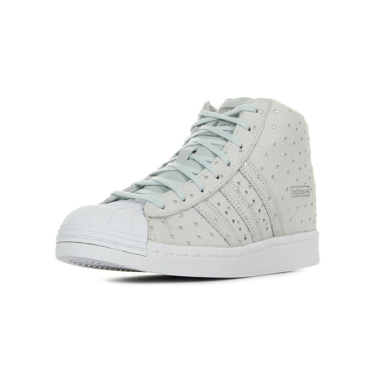 Schuhe adidas Damen Superstar Up W grau