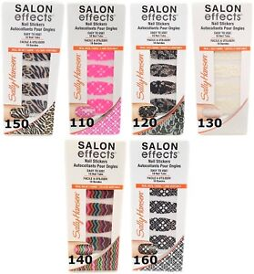 Sally-Hansen-Salon-Effects-Nail-18-Stickers-Per-Pack-Real-Wool-You-Choose-Style