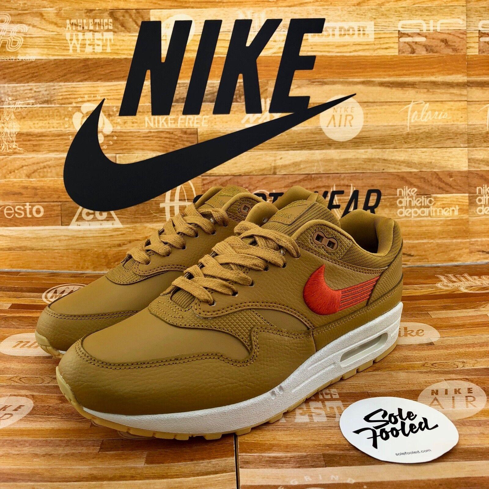 Nike WMNS Air Max 1 4547464 701 wheat Orange gum - 37 38 39 40 41 OG 87 90 95 97