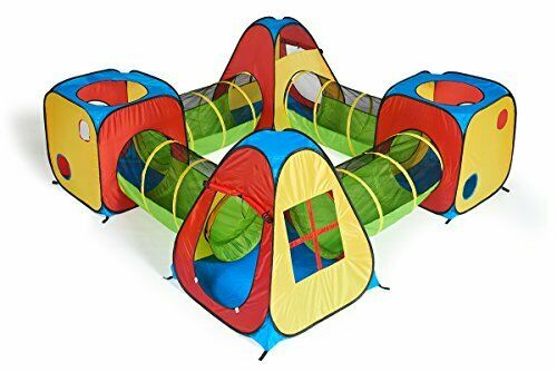 Play Tent Tunnel Kids Toy Outdoor