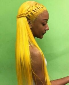Details about Brazilian 100% Real Hair Wig