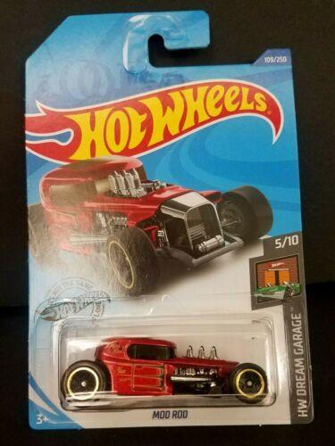 HW Dream Garage 2020 Hot Wheels Mod Rod #109//250 Red