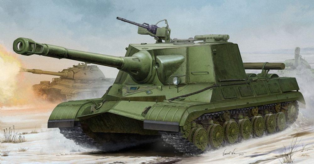 1 35 SCALE MODEL KIT TRU05544 - Trumpeter Soviet Object 268 Heavy Tank Predotype