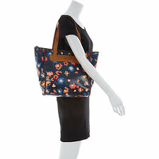 100% Genuine FOSSIL 'Key-Per' Dark Turquoise Shopper Shoulder Hand Bag ZB5896493