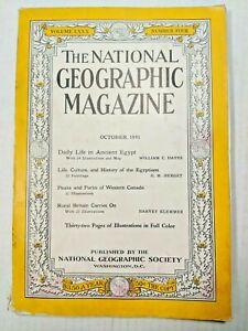 Vintage-National-Geographic-1940s-Magazine-WWII-War-Era-Issue-October-1941