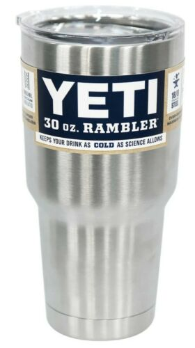 Details about  /YETI Rambler 30 oz Stainless Steel Vacuum Insulated Tumbler w//MagSlider Lid NEW
