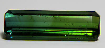 Rare Natural green Tourmaline,7.27ct,21x6mm전기석,التورمالين,電氣石,169