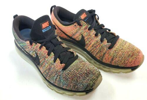 Nike FLYKNIT MAX RAINBOW Running Shoes 620659-005