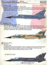 Modelsvit 72052 Dassault Mirage 4000 prototype twinjet fighter plastic kit 1//72