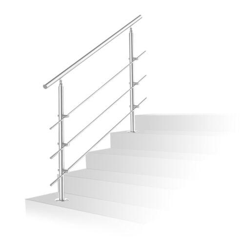 Geländer Handlauf Edelstahl Edelstahl Handlauf Treppe Brüstung Handlaufhalter