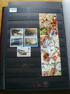 'GB STAMPS - 1992 - COMMEMORATIVE ISSUES' - MNH/USED