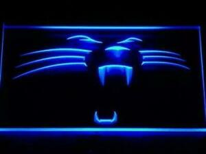 Carolina Panthers LED Logo Neon Light Sign (New) Calgary Alberta Preview