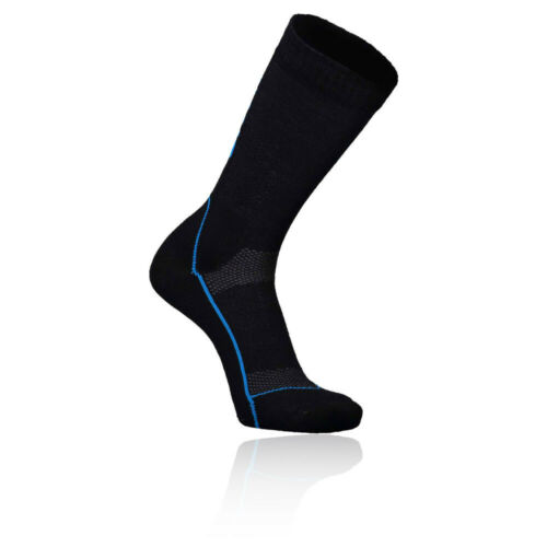 "Black Blue Sports Outdoors Warm Breathable Mons Royale Mens MTB 9/"" Tech Sock"